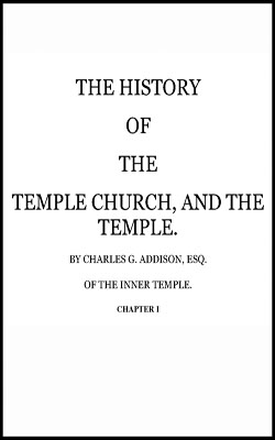 ADDISON - History Temple church and Temple