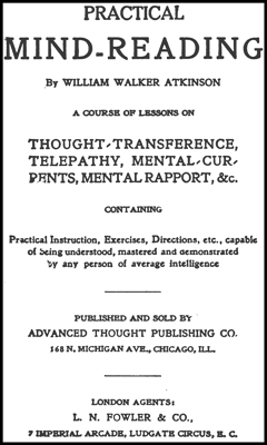 ATKINSON–Practical Mind Reading