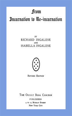 INGALESE - From Incarnation to Re-Incarnation