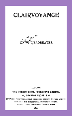 LEADBEATER - Clairvoyance