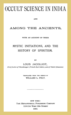 JACOLLIOT - Occult Science in India