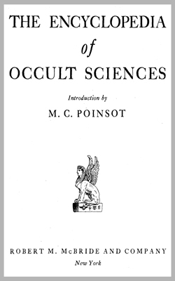 POINSOT-The Encyclopedia Of Occult Sciences