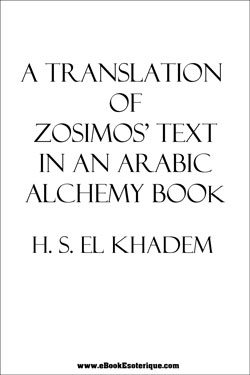 ZOSIMO – Text in Arabic Alchemy Book