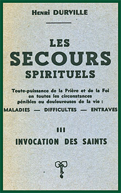 Invocation des Saints