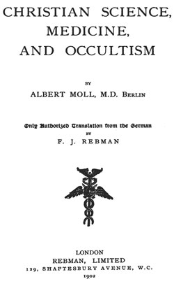 MOLL-Christian Science Medecine Occultisme