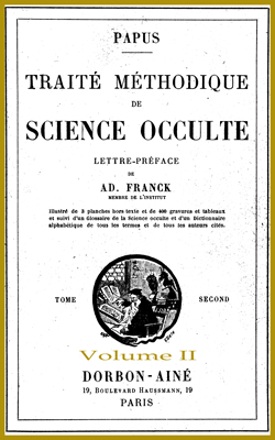 Traité Méthodique de Science Occulte-T2-V2