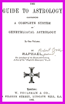RAPHAEL - The Guide To Astrology