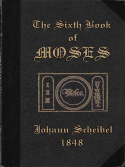 CHEIBEL-The Sixth Book of Moses