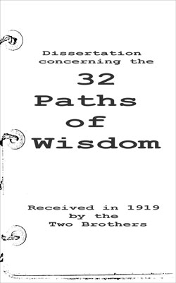 TWO-BROTHERS – 32 Paths of Wisdom