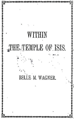 WAGNER - Within the Temple of Isis