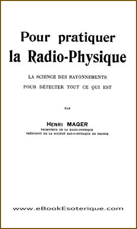 Couverture Mager Radio-Physique