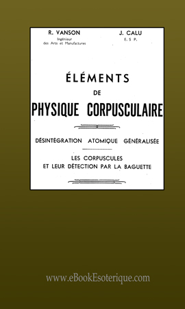 Elements de Physique Corpusculaire