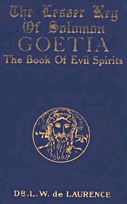 DE LAURENCE - Goetia book of evil spirits