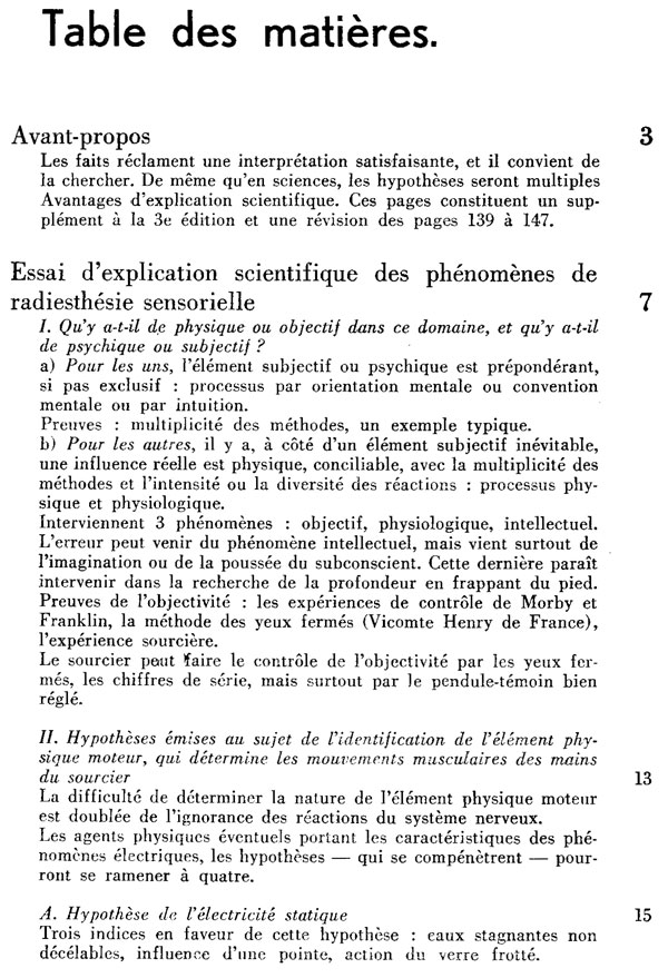 Explication scientifique de Radiesthésie Sensorielle 1